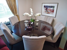 Featured Furniture By Consignment In Seattle WA - Barbara barry dining table parsons